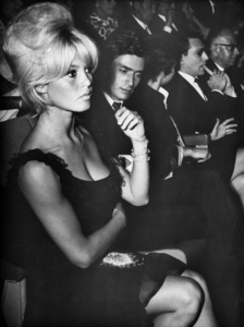 """Brigitte Bardotwith Samy Frey at the premiere of """"The Soldiers Rest"""" in Paris France 1962 - Image 2043_0033"""