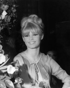 """Brigitte Bardot at the Opera National Theater attending the """"36th Annual Gala of the Artists Union"""" in Paris, France1966 - Image 2043_0039"""