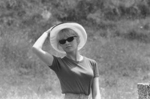 """Brigitte Bardot on the set of """"Contempt""""1963**I.V. - Image 2043_0079"""
