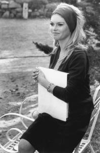 """Brigitte Bardot on the set of """"Contempt"""" 1963**I.V. - Image 2043_0083"""
