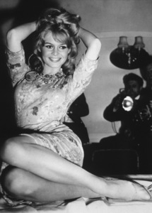 Brigitte Bardotin London April 9, 1959**I.V. - Image 2043_0130