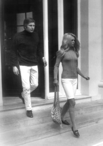 Brigitte Bardot with husband Gunter Sachscirca 1968 - Image 2043_0146