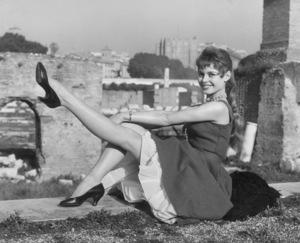 Brigitte BardotC. 1955 in Rome - Image 2043_0147