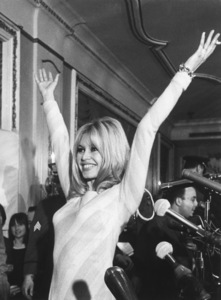 Brigitte Bardot during a press conference at the Plaza Hotel in New York1965 - Image 2043_0152