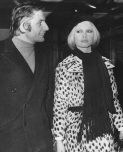 Brigitte Bardot with husband Gunter Sachs1967 - Image 2043_0155