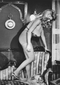"""Brigitte Bardot in a scene from her new movie """"Adorable Idiot""""1964 - Image 2043_0158"""