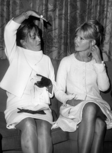 Brigitte Bardot with Jeanne Moreau in New York1965 - Image 2043_0165