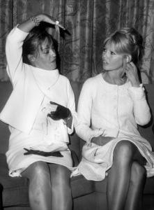 Brigitte Bardot with Jeanne Moreau in New York1965 - Image 2043_0165