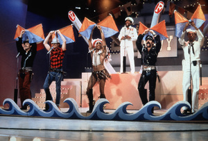 """Village People""Ray Simpson; Randy Jones; David Hodo; Felipe Rose; Glenn Hughes; Alexander BrileyC. 1979**I.V. - Image 20459_0001"
