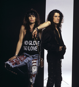 Steven Tyler and Joe Perry of Aerosmithcirca 1980s© 1980 Mario Casilli - Image 20468_0037