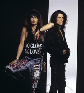 Steven Tyler and Joe Perry of Aerosmithcirca 1980s© 1980 Mario Casilli - Image 20468_0037