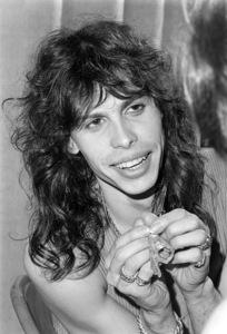 Aerosmith (Steven Tyler) during their Rocks Tour in Atlanta, Georgia at the Omni ColiseumMay 22, 1976© 1978 Ron Sherman - Image 20468_0054