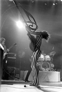 Aerosmith (Steven Tyler) performing during their Rocks Tour in Atlanta, Georgia at the Omni ColiseumMay 22, 1976© 1978 Ron Sherman - Image 20468_0057