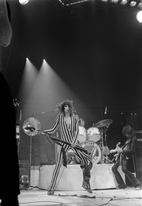 Aerosmith (Steven Tyler) performing during their Rocks Tour in Atlanta, Georgia at the Omni ColiseumMay 22, 1976© 1978 Ron Sherman - Image 20468_0059
