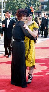 Emmy Creative Arts Awards 2002Sharon and Kelly OsbourneShrine Expo Center, Los Angeles CA, 9/14/02 © 2002 Glenn Weiner - Image 20471_0127