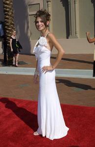 Emmy Creative Arts Awards 2002Maria MenounosShrine Expo Center, Los Angeles CA, 9/14/02 © 2002 Glenn Weiner - Image 20471_0133