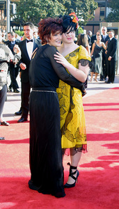 Emmy Creative Arts Awards 2002Sharon and Kelly OsbourneShrine Expo Center, Los Angeles CA, 9/14/02 © 2002 Glenn Weiner - Image 20471_0148