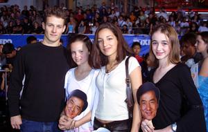 Tuxedo, The: PremiereWill Estes, Sarah Ramos, Vanessa LengiesMann Chinese Theater, Hollywood, CA  9/19/02 © 2002 Glenn Weiner - Image 20474_0104