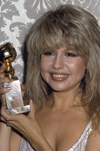 """Pia Zadora wins a Golden Globe award for her performance in """"Butterfly"""" 1982© 1982 Gary Lewis - Image 20532_0001"""