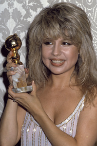 """Pia Zadora wins a Golden Globe award for her performance in """"Butterfly"""" 1982© 1982 Gary Lewis - Image 20532_0002"""