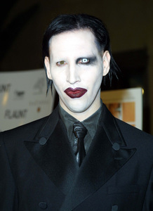 The Rules of Attraction PremiereMarilyn Manson Egyptian Theatre Hollywood, California 10/03/02 © 2002 Glenn Weiner - Image 20565_0174