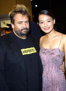 The Transporter PremiereLuc Besson [producer] & actress Shu QiMann Village Theater Westwood, California 10/02/02 © 2002 Glenn Weiner - Image 20566_0108