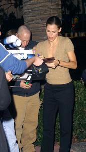 Alias: Behind the ScenesJennifer GarnerAcademy of Television Arts & Sciences in North Hollywood, California 10/14/02 © 2002 Scott Weiner - Image 20587_0105