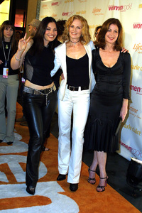 Women Rock Benefit ConcertFran Drescher, Marg Helgenberger & Dana DelanyKodak Theater Hollywood, California 10/10/02 © 2002 Glenn Weiner - Image 20589_0115