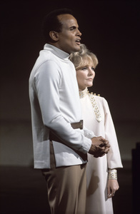 Harry Belafonte and Petula Clark1968© 1978 Ed Thrasher - Image 2061_0037