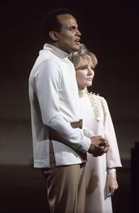 Harry Belafonte and Petula Clark1968© 1978 Ed Thrasher - Image 2061_0037