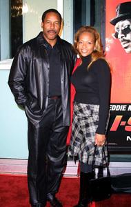 I Spy PremiereDave Winfield & his wife TonyaCinerama Dome Theater in Hollywood, California 10/23/02 © 2002 Glenn Weiner - Image 20654_0110