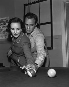 """The Men""Teresa Wright, Marlon Brando1950 United Artists** I.V. - Image 20666_0005"