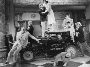 Franklin Pangborn, George Burns, Gracie Allen, Stuart Erwin, W.C. Fields, Bela Lugosi, INTERNATIONAL HOUSE, Paramount, 1933, **I.V. - Image 20669_0001
