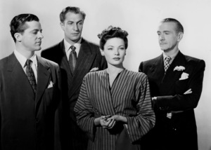Gene Tierney, Clifton Webb, Dana Andrews, Vincent Price, LAURA, 20-th Century Fox, 1944, **I.V. - Image 20701_0001