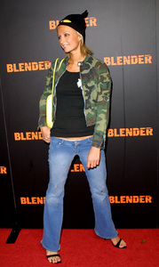 Blender Magazine PartyParis HiltonClub Ivar in Hollywood, California 10/30/02 © 2002 Glenn Weiner - Image 20707_0117
