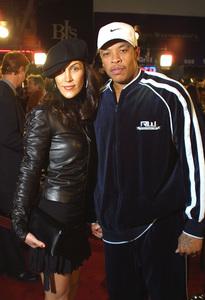8 Mile PremiereDr Dre & his dateMann Village Theater in Westwood, CA 11/06/02 © 2002 Glenn Weiner - Image 20716_0113