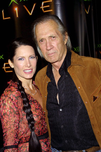 XBOX Video Game Launch PartyDavid Carradine & his wifeSunset Room in Hollywood, CA 11/14/02 © 2002 Scott Weiner - Image 20749_0194