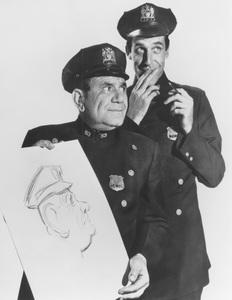 """Car 54, Where Are You?""Fred Gwynne and Joe Rosscirca 1961 - Image 20790_0003"