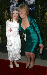 Evelyn PremiereSophie Vavasseur & the real Evelyn DoyleAcademy of Motion Picture Arts & Sciences in Beverly Hills, CA 12/03/02 © 2002 Glenn Weiner - Image 20833_0146