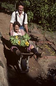 Bill Bixby with his wife, Brenda Benet1977© 1978 Gene Trindl - Image 2084_0049