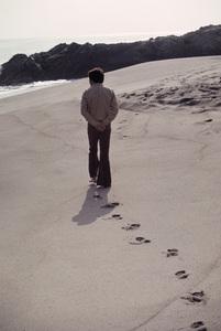 Bill Bixby in Malibu1970© 1978 Gene Trindl - Image 2084_0068
