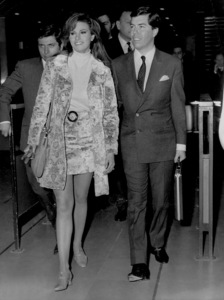 Raquel Welch with Patrick Curtis1967 - Image 2084_0121
