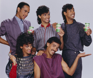 DeBarge for a Mountain Dew advertisement (James DeBarge, Bunny DeBarge, El DeBarge, Mark DeBarge, Randy DeBarge)1984 © 1984 Bobby Holland - Image 20924_0013