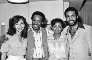 Bunny Wilson, Frank Wilson and Lenny Williamscirca 1980s© 1980 Bobby Holland - Image 20928_0003