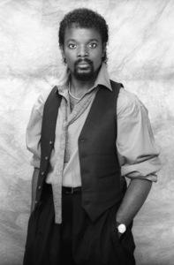 Tiemeyer McCain (band member for Lakeside)circa mid 1980s© 1980 Bobby Holland - Image 20928_0005