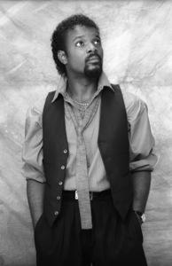 Tiemeyer McCain (band member for Lakeside)circa mid 1980s© 1980 Bobby Holland - Image 20928_0006