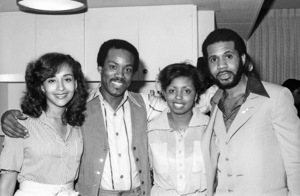 Bunny Wilson, Frank Wilson and Lenny Williamscirca 1980s© 1980 Bobby Holland - Image 20928_0007
