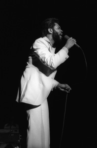 Lenny Wlliams performing live at The Roxy in West Hollywood, Californiacirca mid 1970s© 1978 Bobby Holland - Image 20928_0011