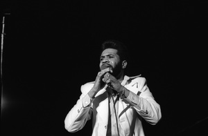 Lenny Wlliams performing live at The Roxy in West Hollywood, Californiacirca mid 1970s© 1978 Bobby Holland - Image 20928_0015