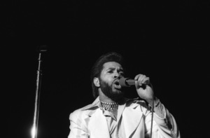 Lenny Wlliams performing live at The Roxy in West Hollywood, Californiacirca mid 1970s© 1978 Bobby Holland - Image 20928_0017